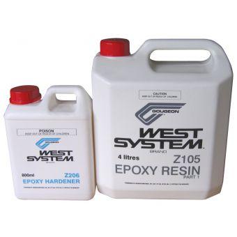 West System 4.8L Epoxy Resin Kit